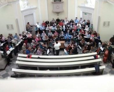 Chor Orchester Schloss