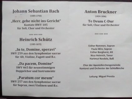 Schloss Programm